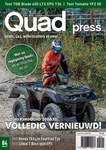 Quadxpress #26 (september 2020)