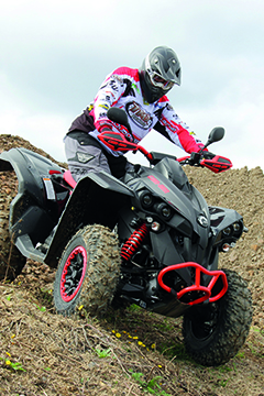 Test Can-Am Renegade 1000 Xxc
