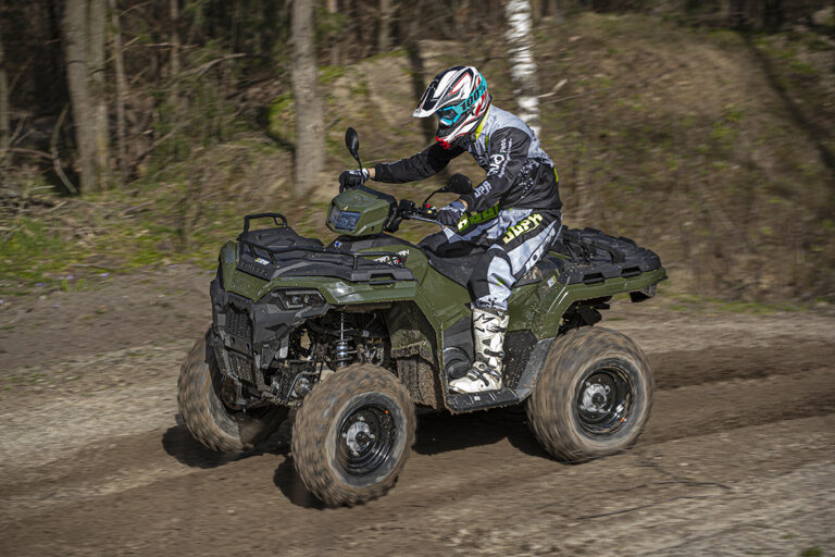 Test Polaris Sportsman 570